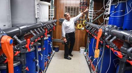 Frank Russo, associate director for waste water initiatives
