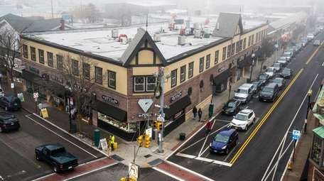 Changes in downtown Patchogue include the $100 million