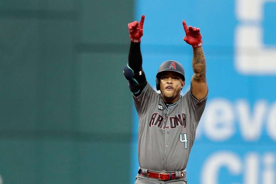 National League's Ketel Marte, of the Arizona Diamondbacks,