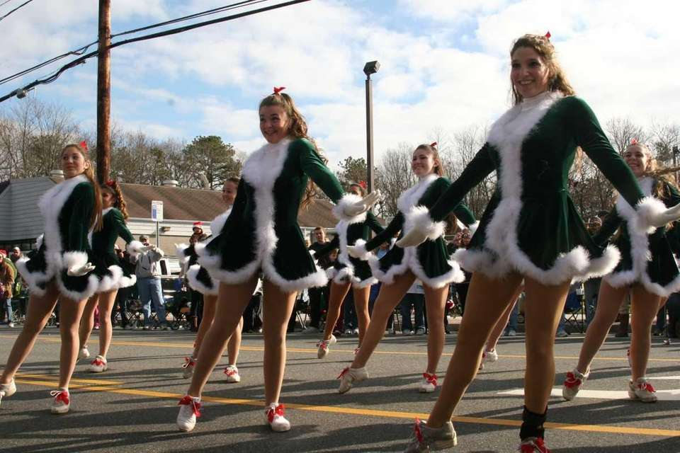 The William Floyd High School Varsity Rockettes dance
