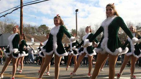 The William Floyd High School Varsity Rockettes dance