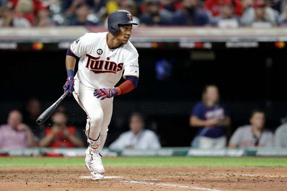American League's Jorge Polanco, of the Minnesota Twins,