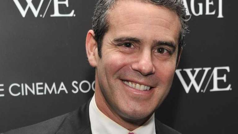 Andy Cohen attends the Cinema Society & Piaget
