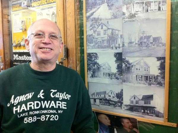 Paul Weber has owned Agnew & Taylor Hardware