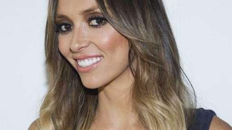 TV personality Giuliana Rancic attends the Rachel Zoe