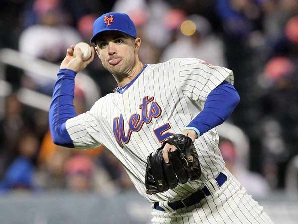 David Wright at Citi Field. (April 9, 2011)
