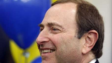 NHL Commissioner Gary Bettman. (Nov. 22, 2011)