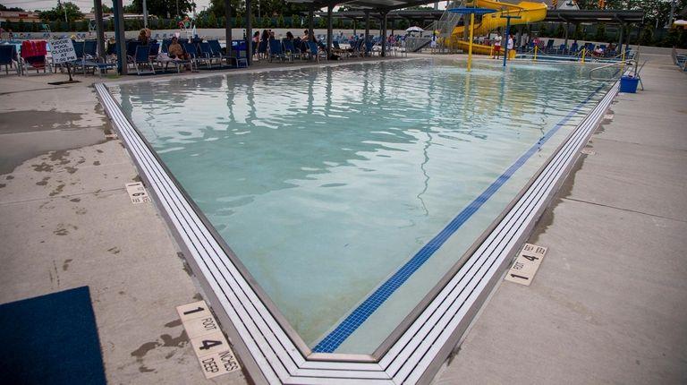 The Pool facility inside Clinton G. Martin Park