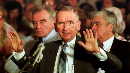 H. Ross Perot, testifying before the U.S. Senate