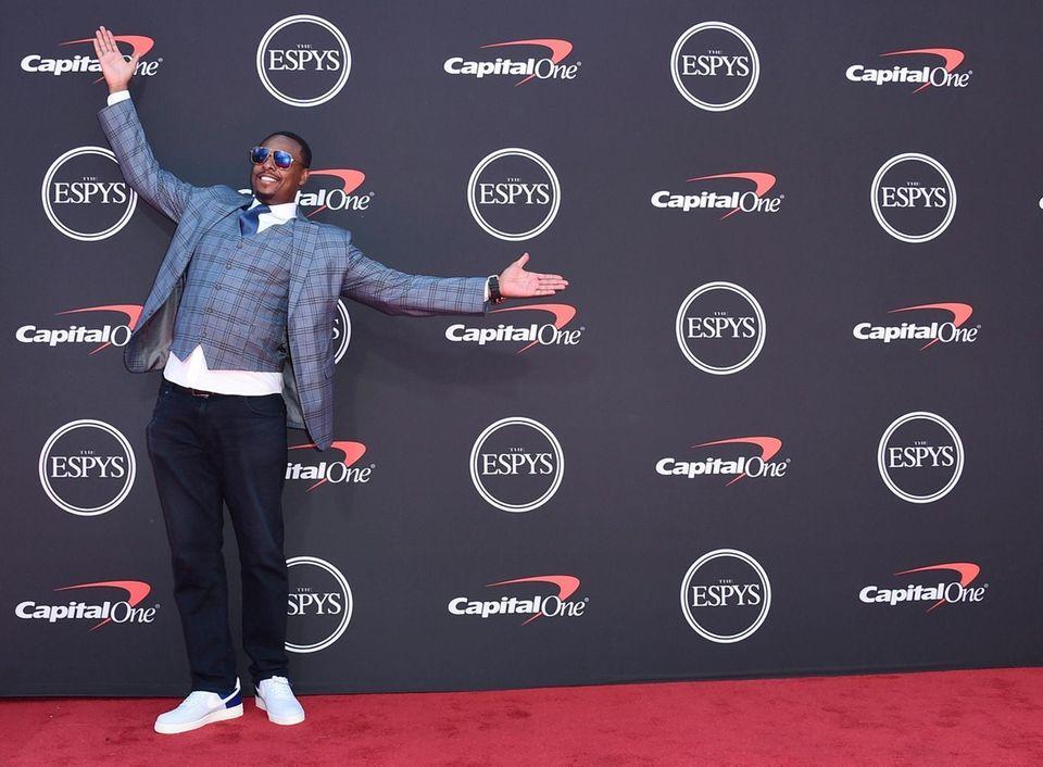 Paul Pierce arrives at the ESPY Awards on