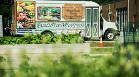 Last year, the mobile farmers market that serves