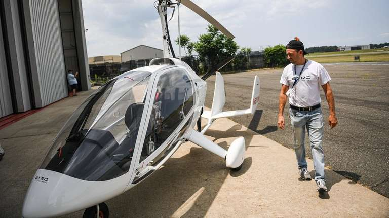 Gyroplane dealership launches at MacArthur Airport | Newsday