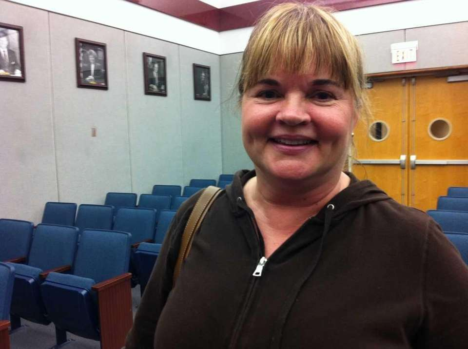Kathy Easterson, who has lived in Ronkonkoma for