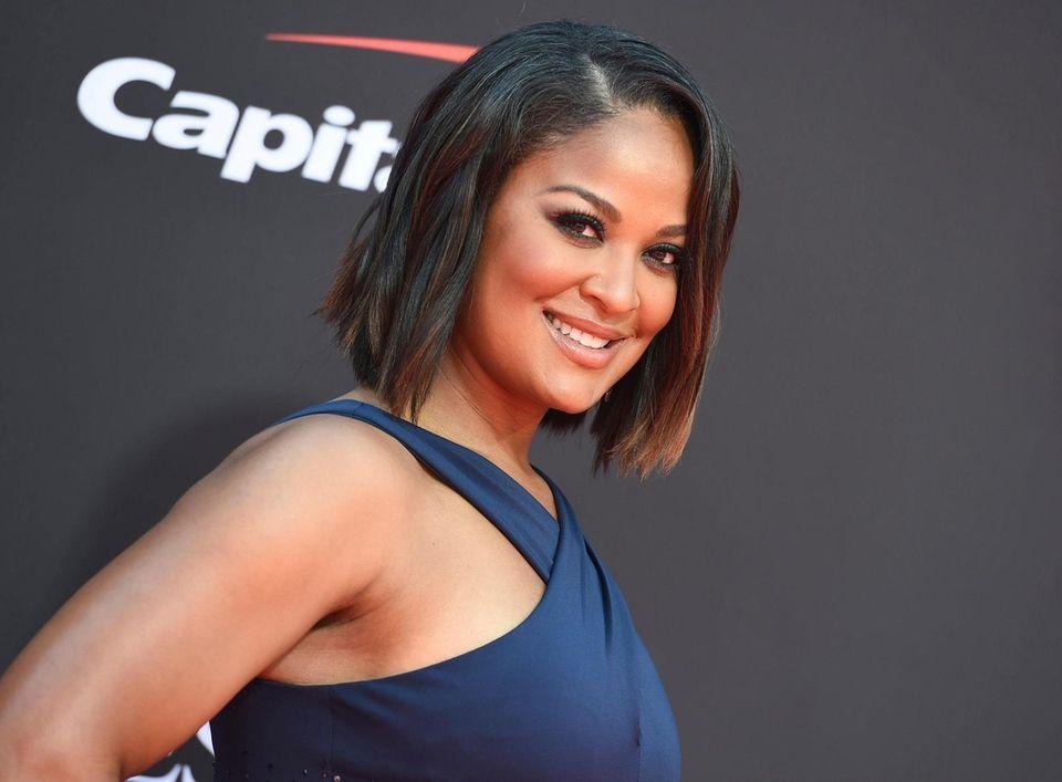 Laila Ali arrives at the ESPY Awards on
