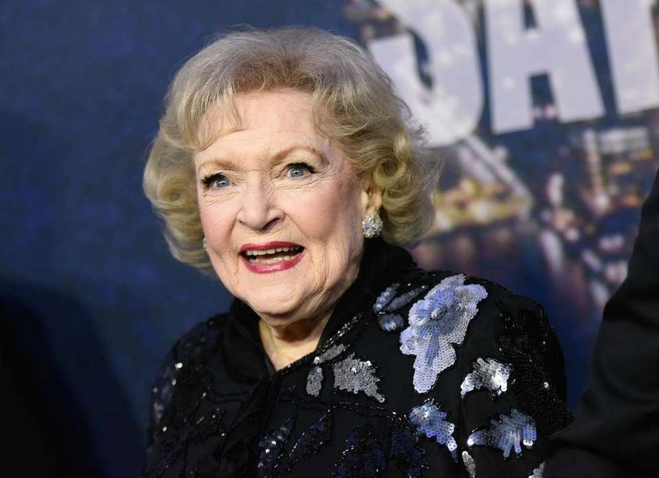 Actress and comedian Betty White is the president