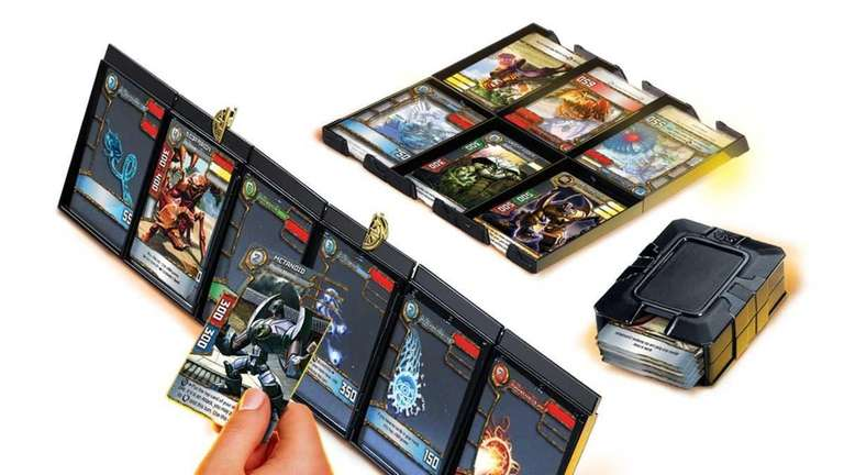Redakai is a 3-D and animated trading card