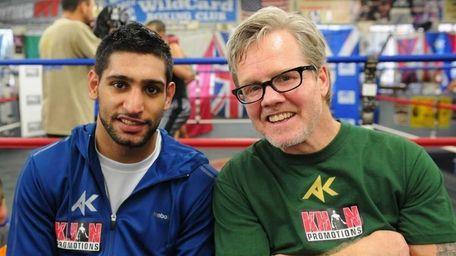 Trainer Freddie Roach at Wild Card Boxing Club