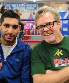 Trainer Freddie Roach at Wild Card Boxing Club