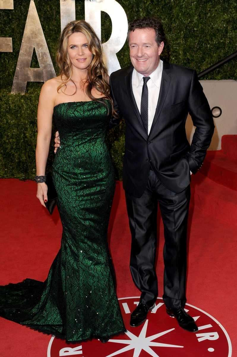 Parents: Piers Morgan and Celia Walden Children: Elise,