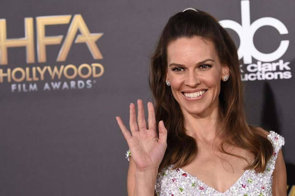 Actress Hilary Swank is a supporter of the