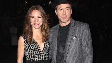 Robert Downey Jr. and Susan Levin