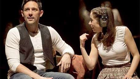 Steve Kazee, left, and Cristin Molioti star in