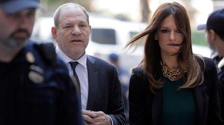 Harvey Weinstein and his new attorney, Donna Rotunno,