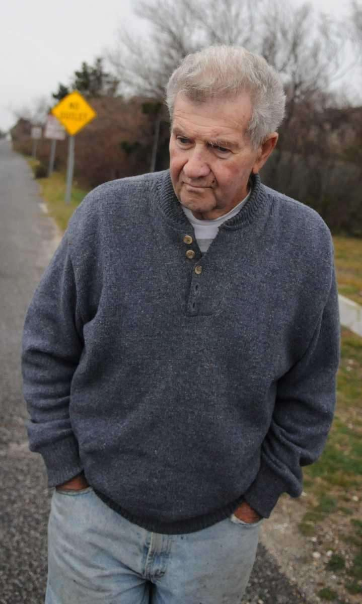 Gus Coletti, an Oak Beach resident, saw police