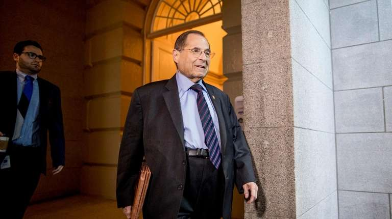 House Judiciary Committee Chairman Jerrold Nadler (D-Manhattan) on