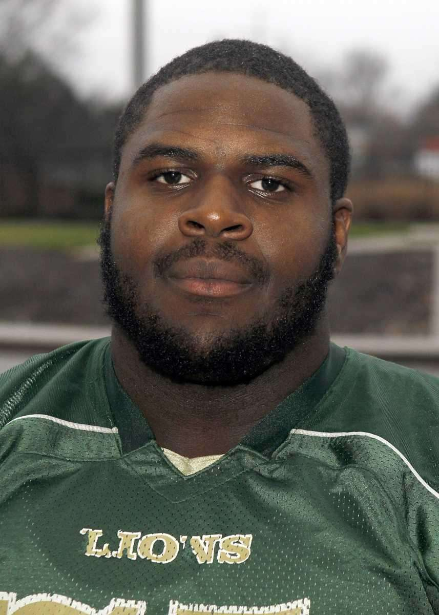 OMARI PALMER Longwood, OL, 6-3, 310, Senior Pancake-blocking