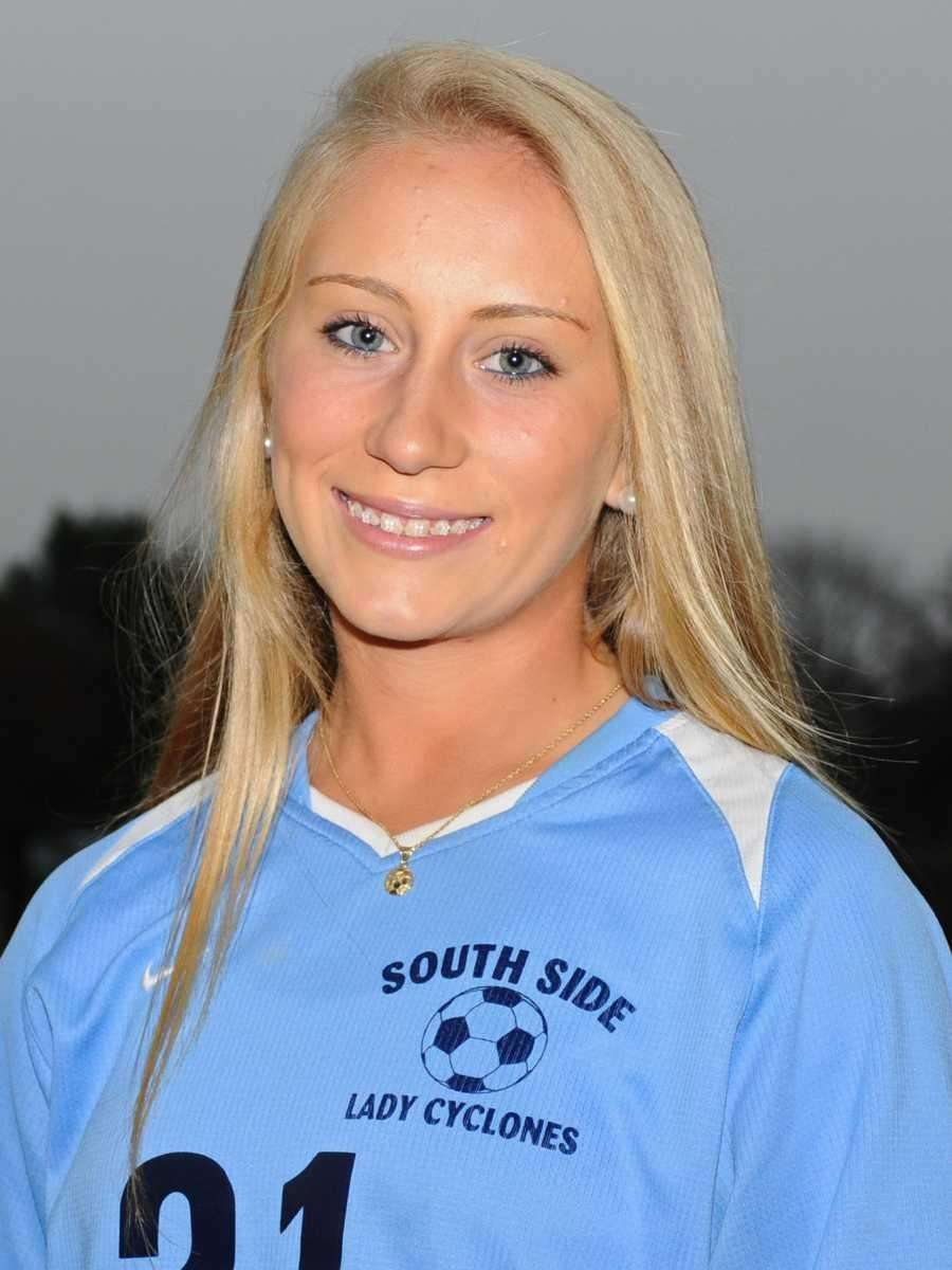 CHRISTINA KLAUM Forward/Midfield, South Side, sophomore Klaum became