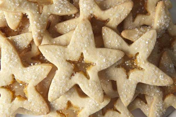 Vanilla stained-glass star cookies taste as good as