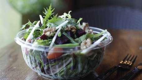 A market salad is served at Jack's Shack