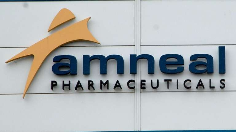 The exterior of Amneal Pharmaceuticals LLC in Yaphank