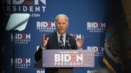 Former Vice President Joe Biden, 2020 Democratic presidential