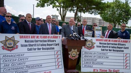 Nassau County Correction Officers Benevolent Association President Brian