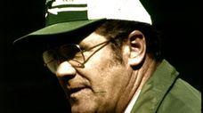 Then-Jets head coach Walt Michaels in 1980.