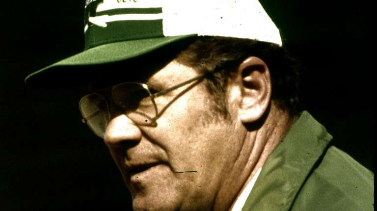 Then-Jets head coach Walt Michaels in 1980.