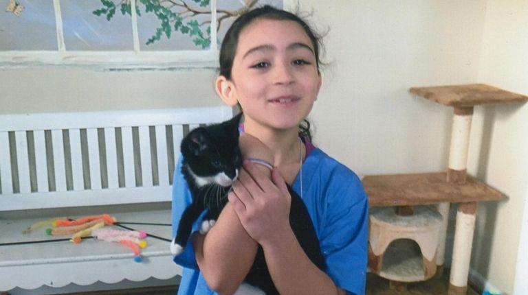Kidsday reporter Chloe Poblete, of Joseph A. Edgar