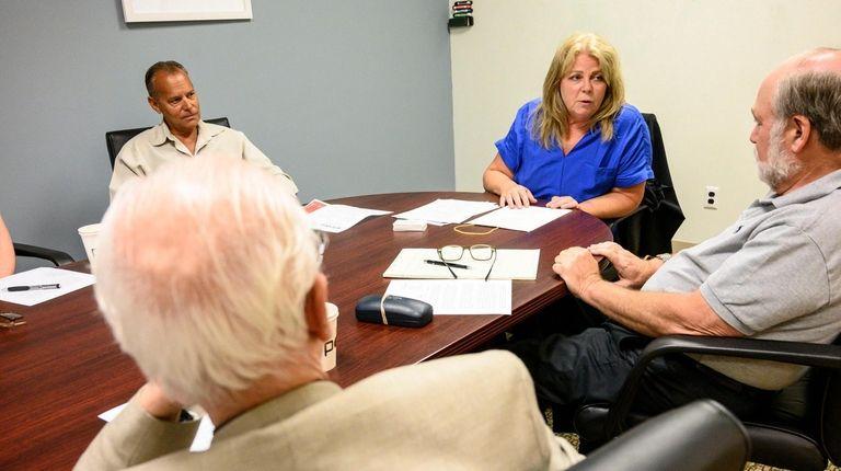 Elder law atorney Nancy Burner leads a financial