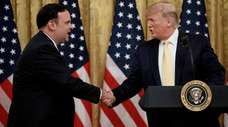White House social media director Dan Scavino with