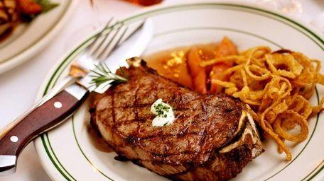 9. George Martin's Strip Steak, Great River The