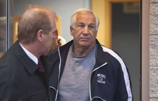 Former Penn State assistant football coach Jerry Sandusky,