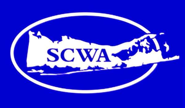 The logo of the Suffolk County Water Authority