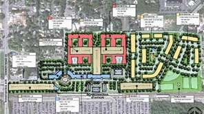 Possible site plan from developer Tritec, recommended on