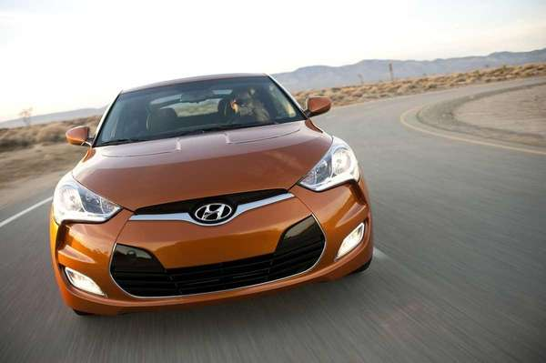 Prices for the 2012 Hyundai Veloster start at
