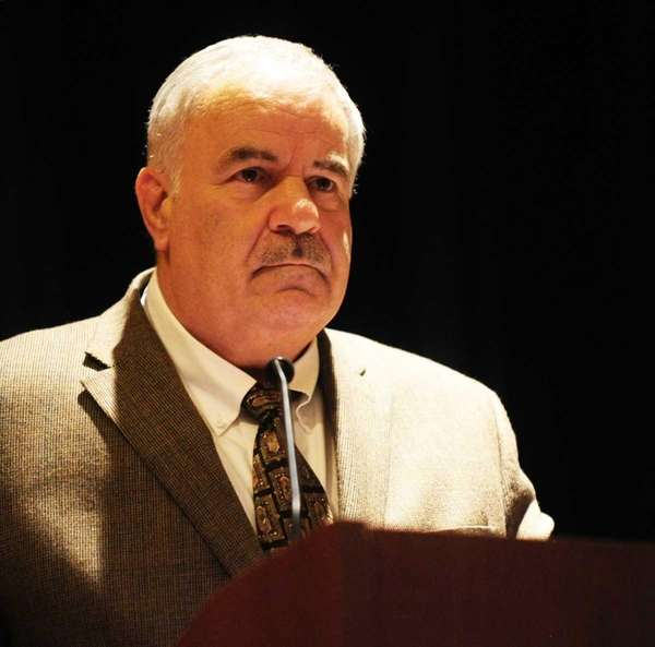 Joe Cipp Jr., superintendent of the South County