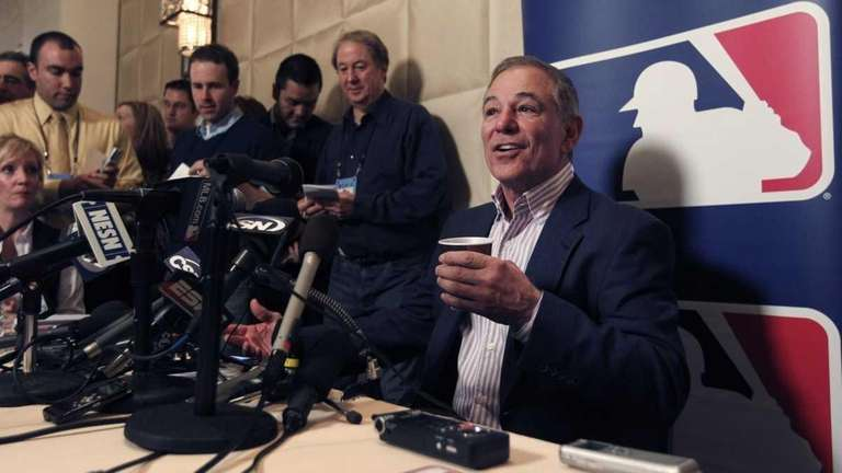 Boston Red Sox manager Bobby Valentine talks to