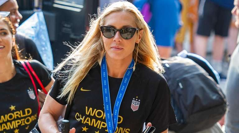 United States women's soccer team member Allie Long