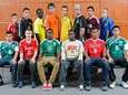 ALL-LONG ISLAND BOYS SOCCER FIRST TEAMFront row, from